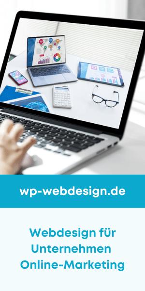 wp webdesign.de - Webdesign für Unternehmen