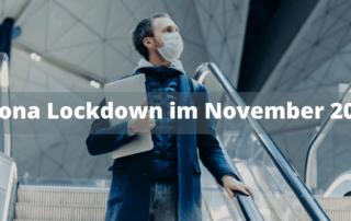 Corona Lockdown im November 2020